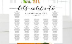 008 Sensational Wedding Seating Chart Template Highest Clarity  Templates Plan Excel Word Microsoft