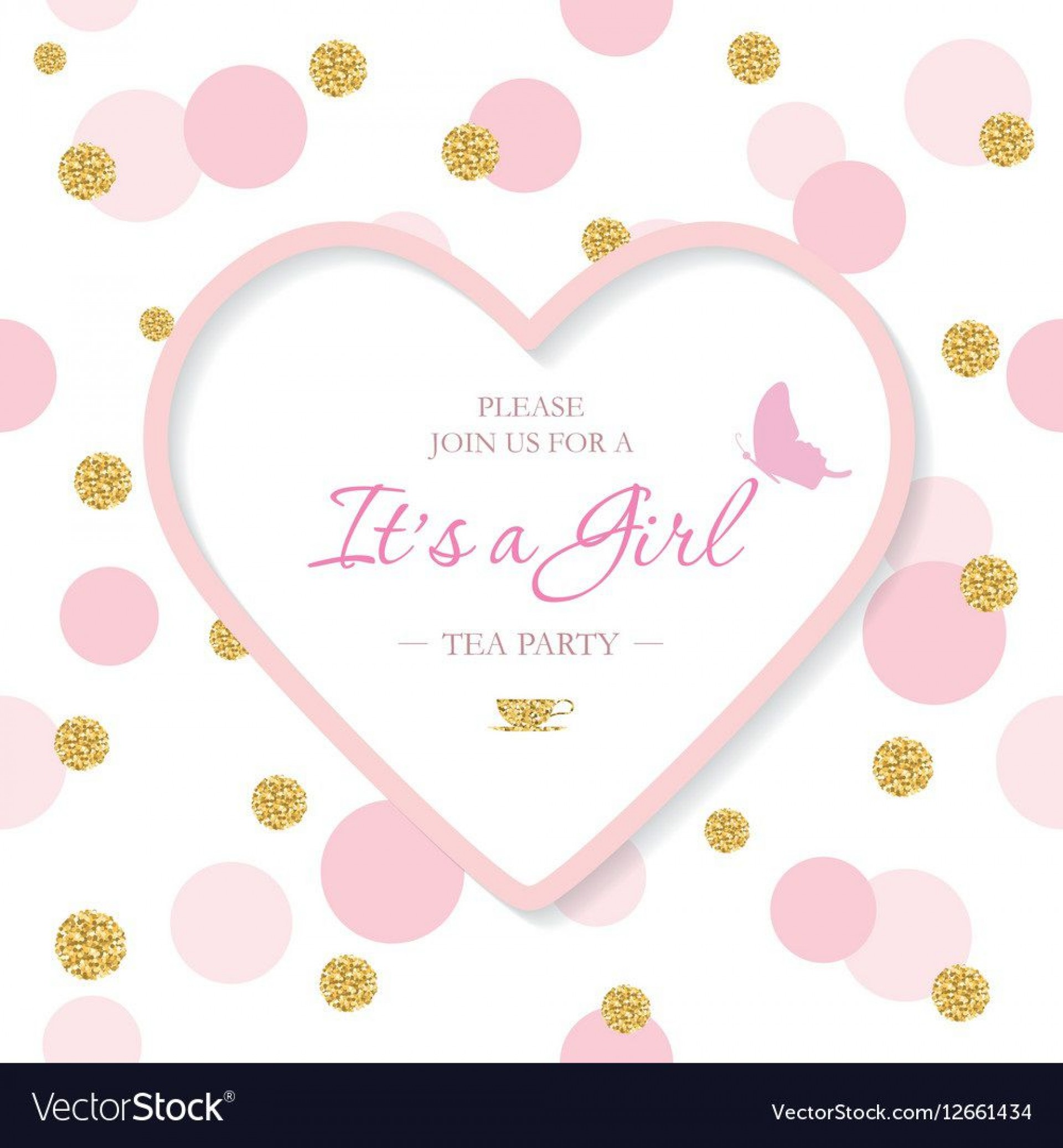 008 Shocking Baby Shower Invitation Template Sample  Editable Girl Downloadable Free Pdf Virtual1920