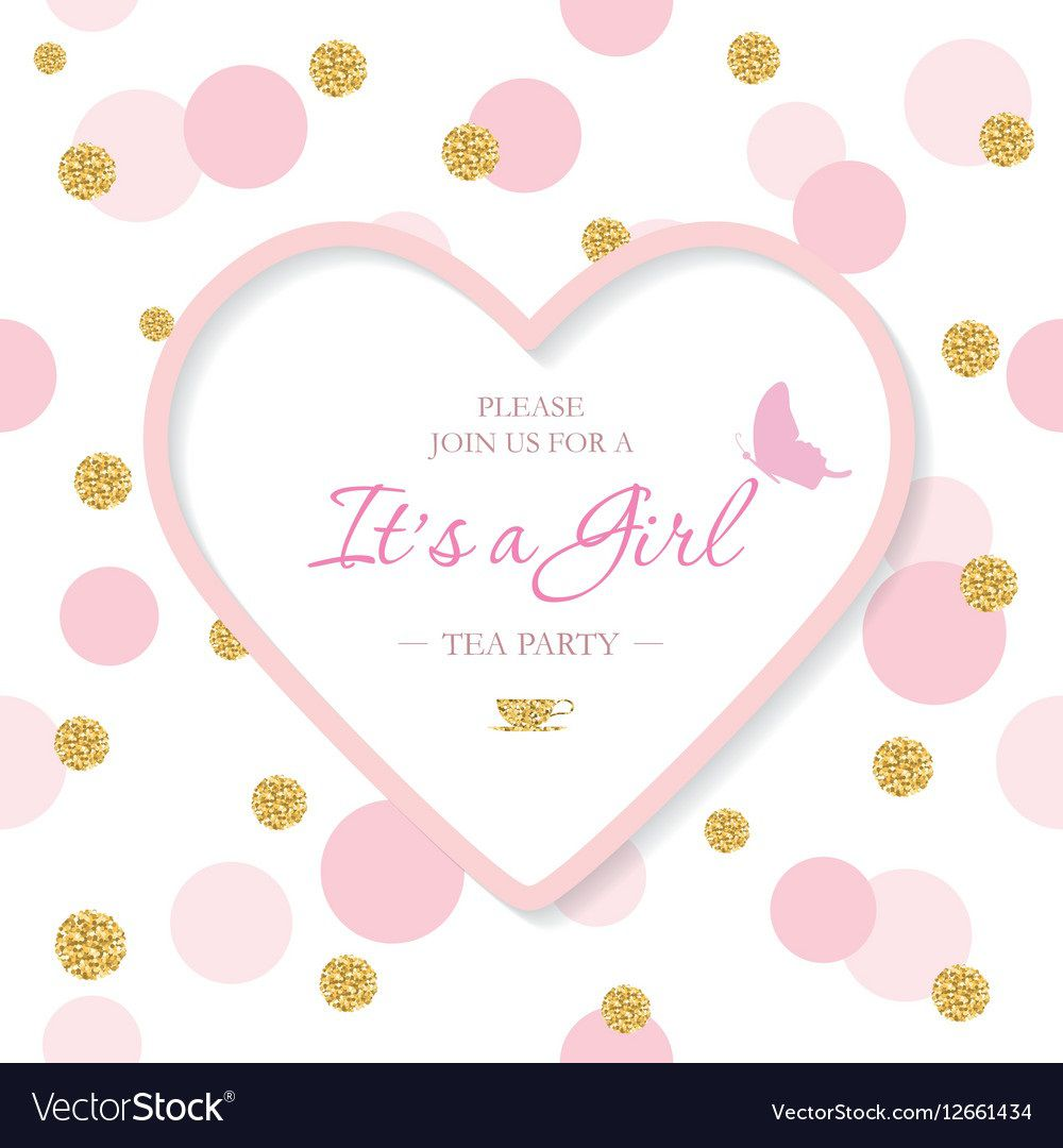 008 Shocking Baby Shower Invitation Template Sample  Editable Girl Downloadable Free Pdf VirtualFull