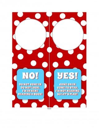 008 Shocking Blank Door Hanger Template Free Inspiration 320