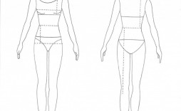 008 Shocking Body Template For Fashion Design Concept  Female Male Human