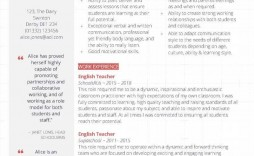 008 Shocking Cv Template For Teaching Example  Sample Teacher Assistant Modern Word Free Download Job