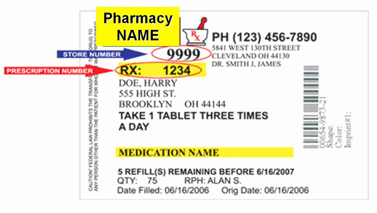 008 Shocking Fake Walgreen Prescription Label Template Photo Full
