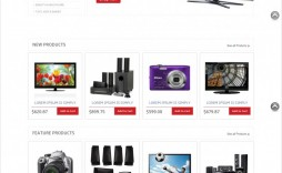 008 Shocking Free E Commerce Website Template Sample  Ecommerce Html Cs Bootstrap Php