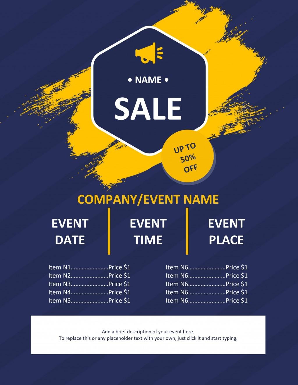 008 Shocking Free Event Flyer Template Word Inspiration  MicrosoftLarge