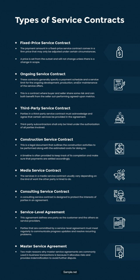 008 Shocking Free Service Contract Template Word Sample  Microsoft480