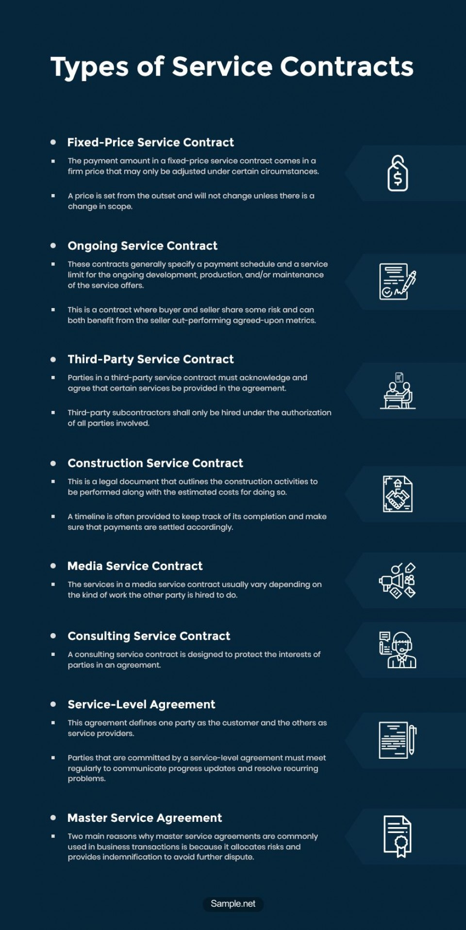 008 Shocking Free Service Contract Template Word Sample  Microsoft960