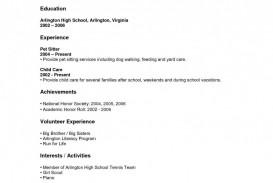 008 Shocking High School Student Resume Template Inspiration  Free Google Doc