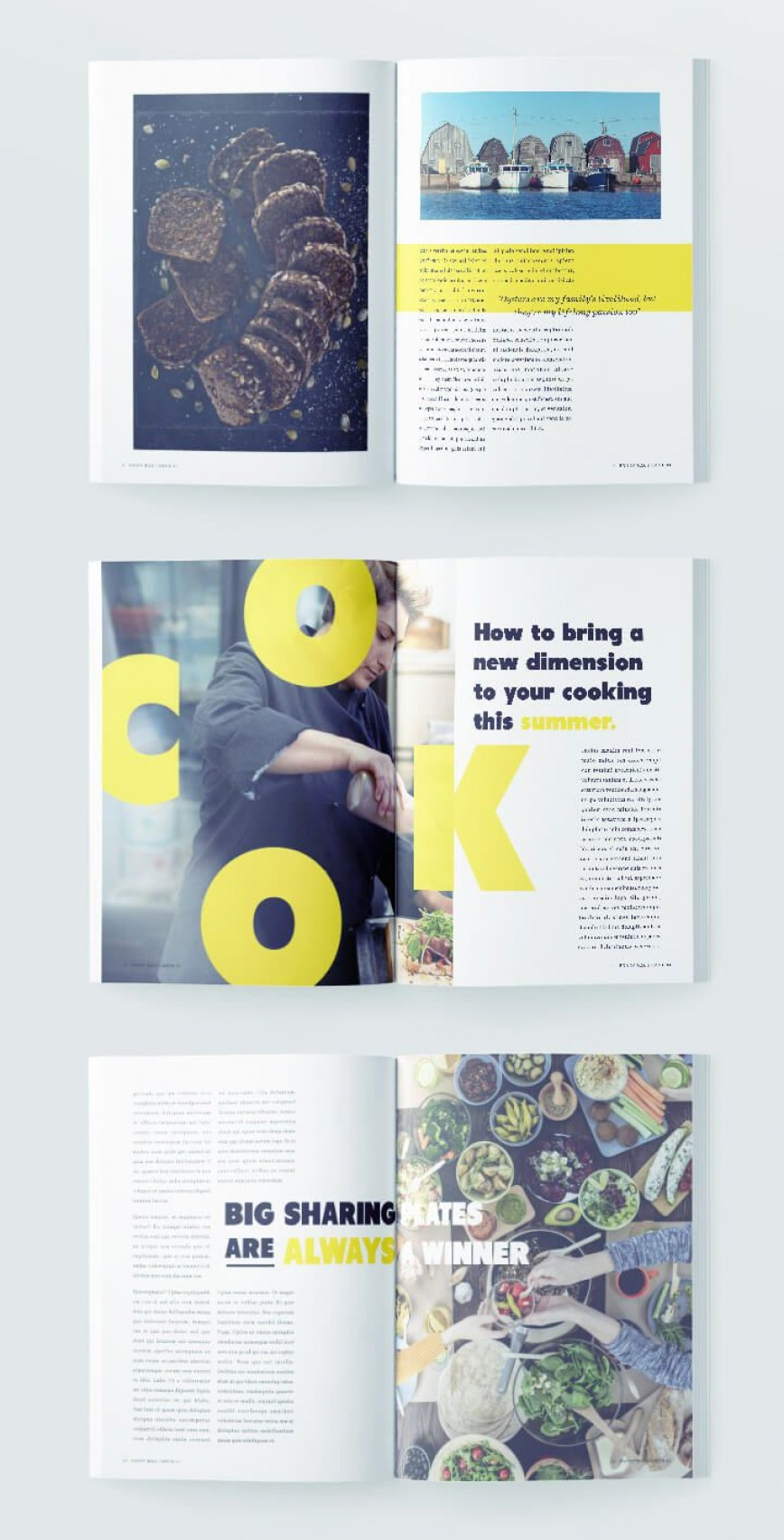 008 Shocking Indesign Magazine Template Free Sample  Layout Download Adobe Cs6 Indd