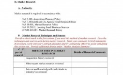 008 Shocking Market Research Report Template Image  Excel Sample Free