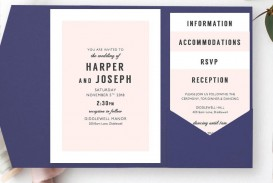 008 Shocking Microsoft Word Invitation Template 4 Per Page Image