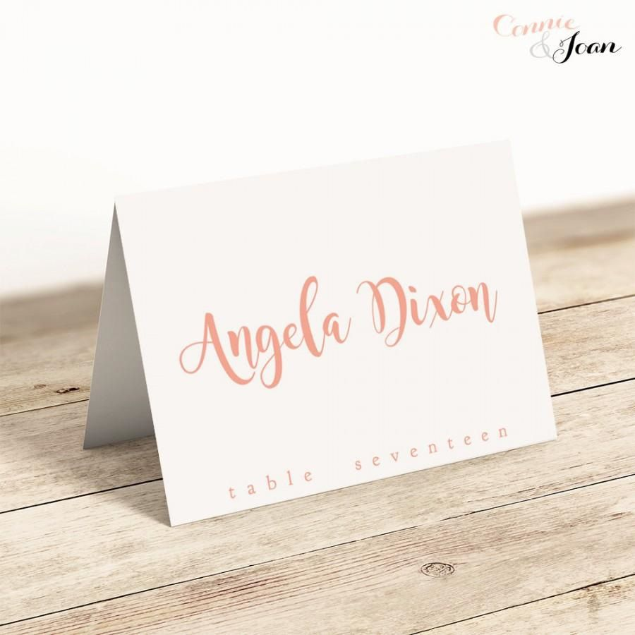 008 Shocking Name Place Card Template For Wedding Design  Free WordFull