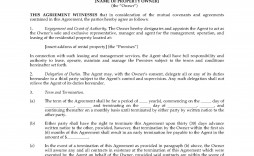 008 Shocking Rental Property Management Contract Sample Highest Quality  Vacation Template
