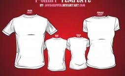 008 Shocking T Shirt Template Vector Inspiration  Black Front And Back Free Download Illustrator