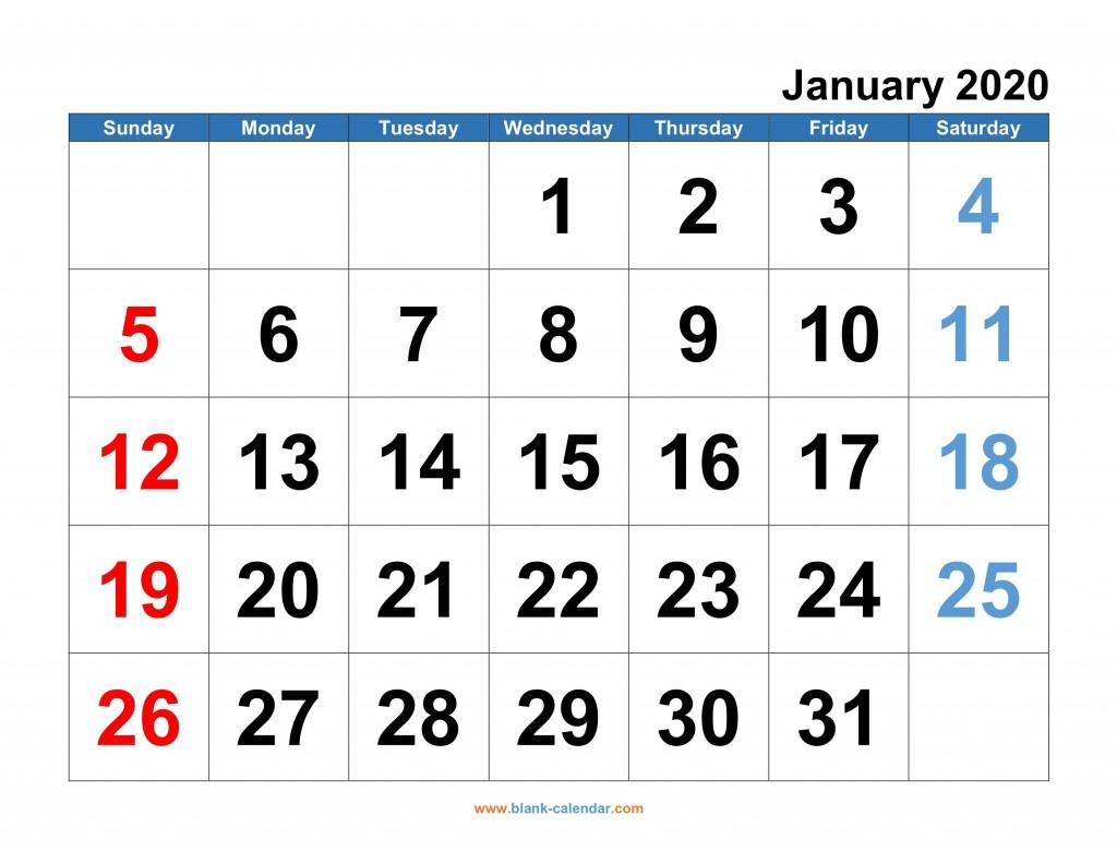 008 Simple 2020 Monthly Calendar Template Design  Templates Word Australian FreeLarge