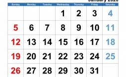 008 Simple 2020 Monthly Calendar Template Design  Templates Word Australian Free