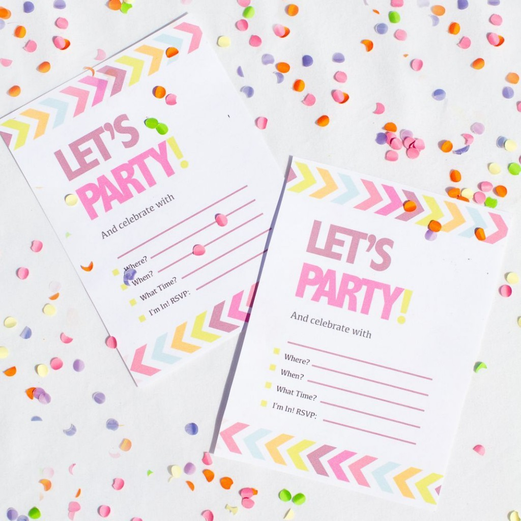 008 Simple Bachelorette Party Invitation Template Word Free Example Large