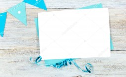008 Simple Blank Birthday Card Template Picture  Word Free Printable Greeting Download