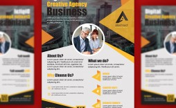 008 Simple Busines Flyer Template Free Download Example