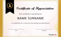 008 Simple Certificate Of Appreciation Template Free Concept  Microsoft Word Download Publisher Editable