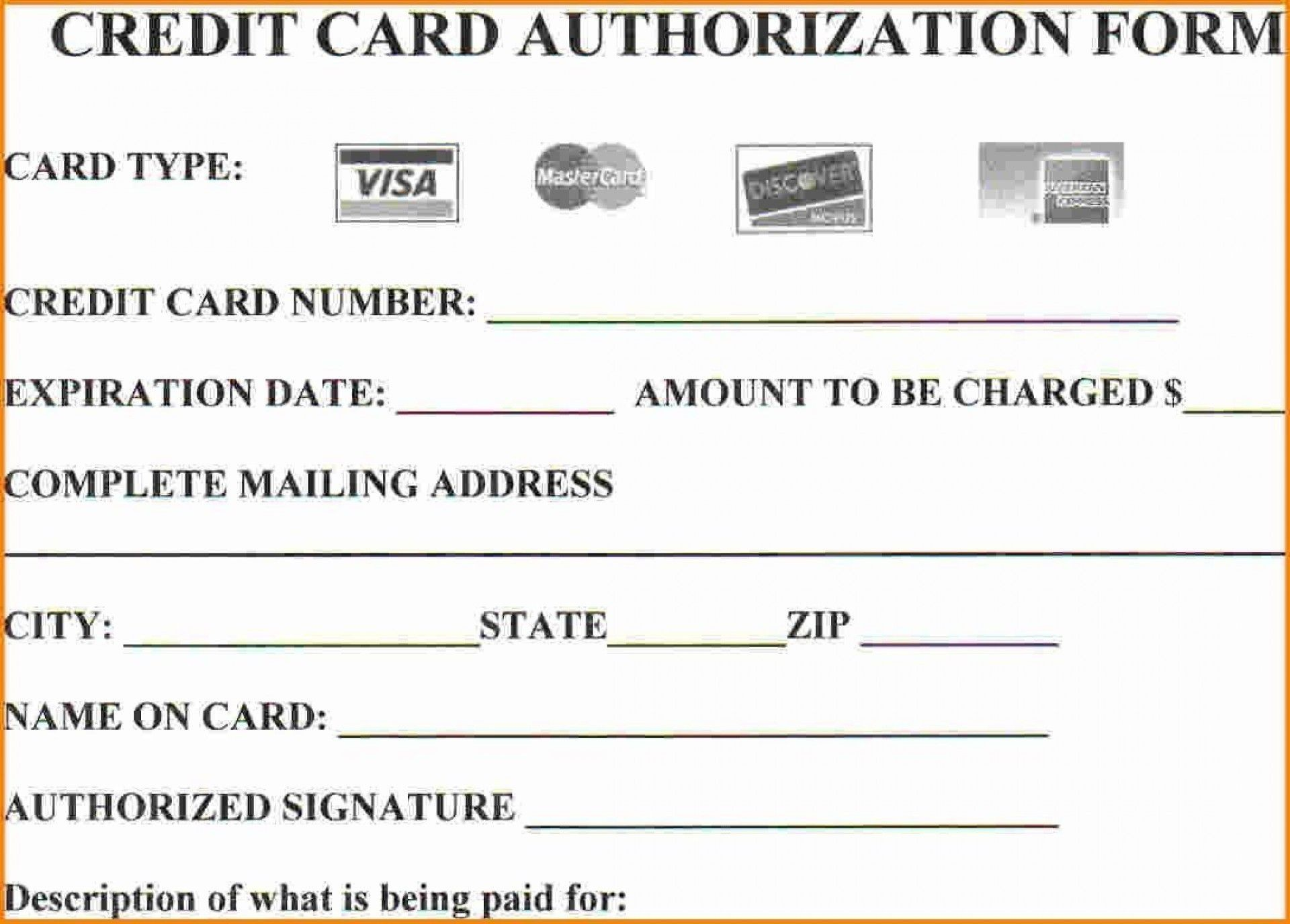 008 Simple Credit Card Payment Form Template Pdf Inspiration  Authorization1920