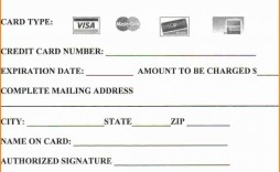 008 Simple Credit Card Payment Form Template Pdf Inspiration  Authorization