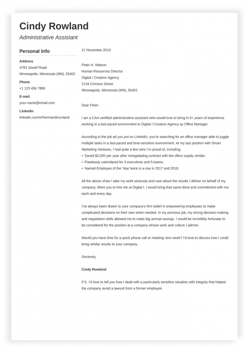 008 Simple Easy Cover Letter Template High Resolution  Free Download Pdf Australia 2018 Basic Sample