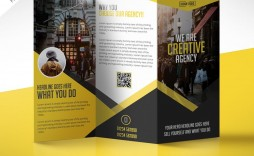 008 Simple Free Brochure Template Photoshop Download Concept  Tri Fold