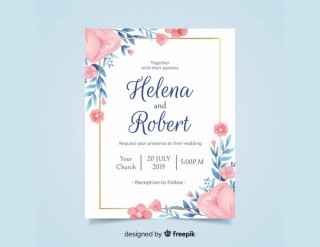 008 Simple Free Download Invitation Card Template Psd Sample  Indian Wedding320