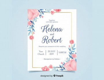 008 Simple Free Download Invitation Card Template Psd Sample  Indian Wedding360