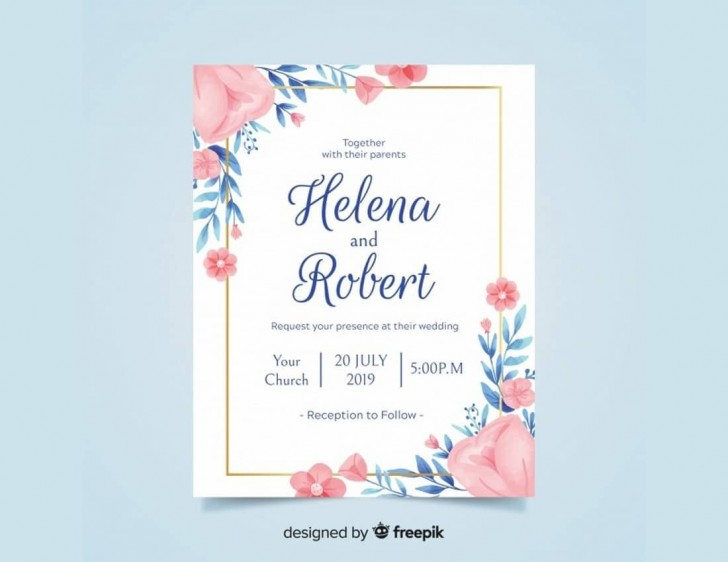 008 Simple Free Download Invitation Card Template Psd Sample  Indian Wedding Birthday728