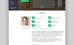 008 Simple Free Html Resume Template Highest Clarity  Html5 Best Cv Desmond / Download