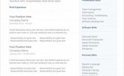 008 Simple Free Printable Resume Template Australia Picture