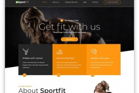 008 Simple Free Responsive Html5 Template Concept  Download For School Bootstrap Website
