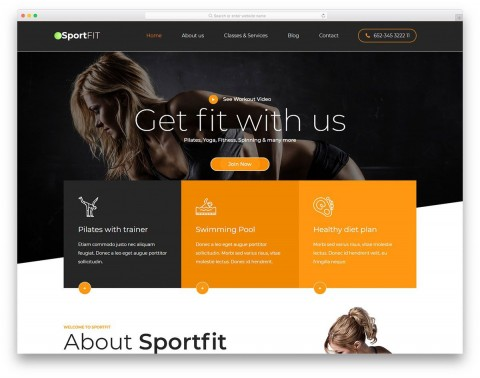 008 Simple Free Responsive Html5 Template Concept  Download For School Bootstrap Website480