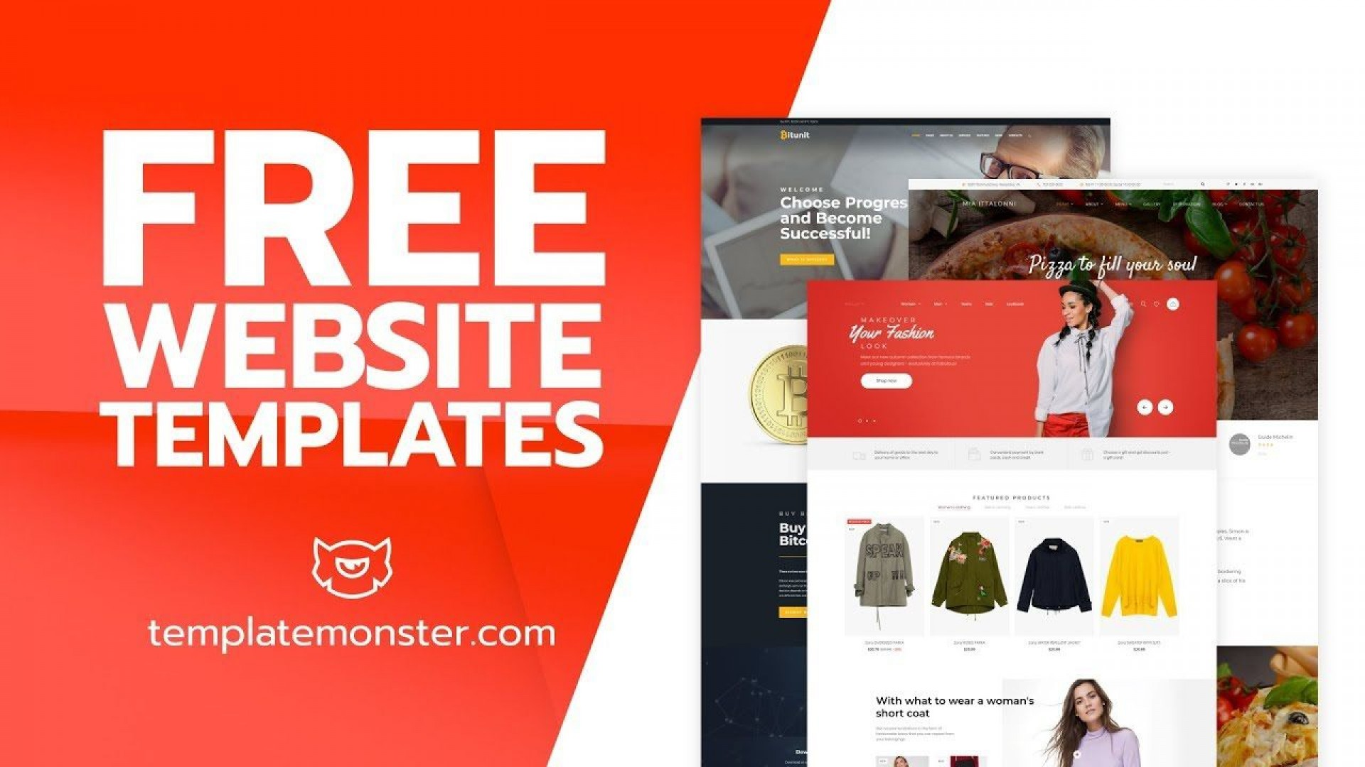 008 Simple Free Website Template Download Html And Cs Jquery For Ecommerce Concept 1920