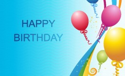 008 Simple Happy Birthday Card Template For Word Design