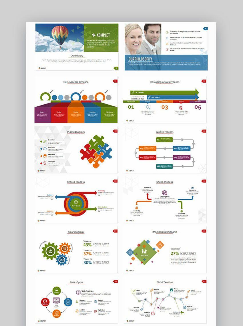 008 Simple Ppt Flow Chart Template High Def  Powerpoint Flowchart SmartartFull