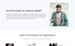 008 Simple Single Page Web Template Idea  Templates One Website Free Download Html5 Bootstrap