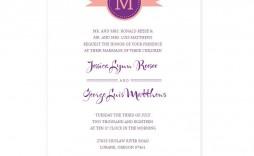 008 Simple Wedding Program Template Free Photo  Fan Download Elegant