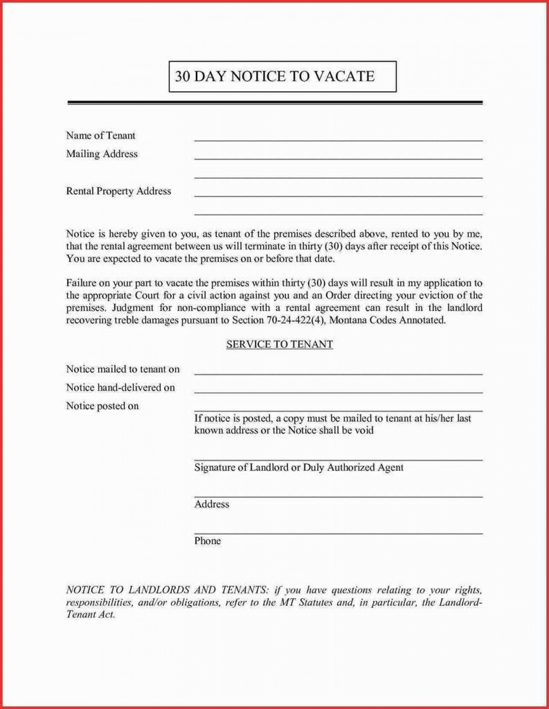 30 Day Notice Lease Termination Letter from www.addictionary.org