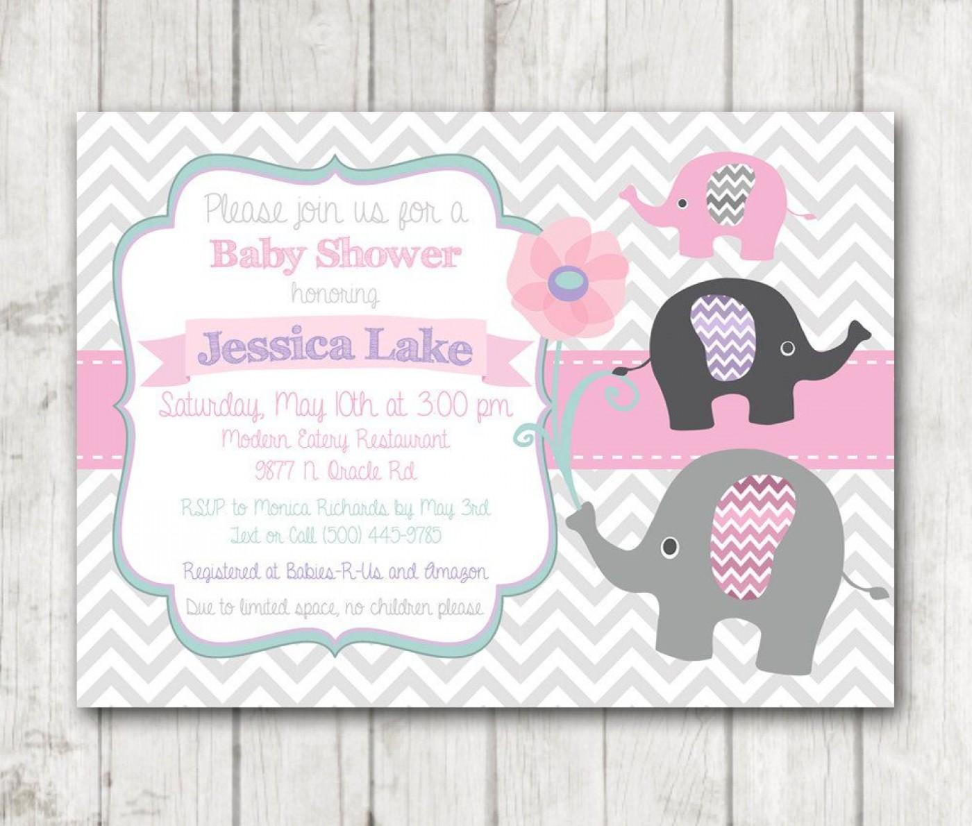 008 Singular Baby Shower Invitation Girl Printable High Def 1400