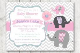 008 Singular Baby Shower Invitation Girl Printable High Def