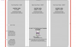008 Singular Brochure Template For Google Doc Example  Docs Download 3 Panel Free