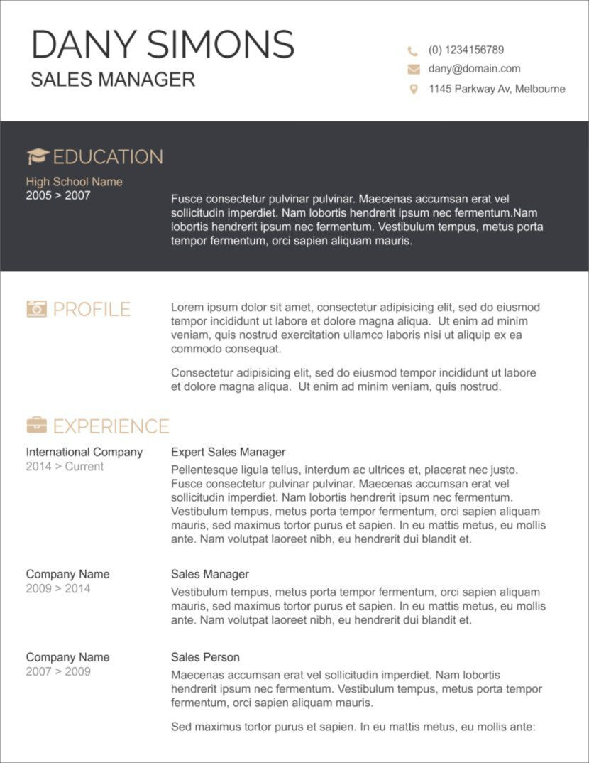 008 Singular Download Resume Template Free Microsoft Word Highest Clarity  2010 Attractive M Simple ForFull