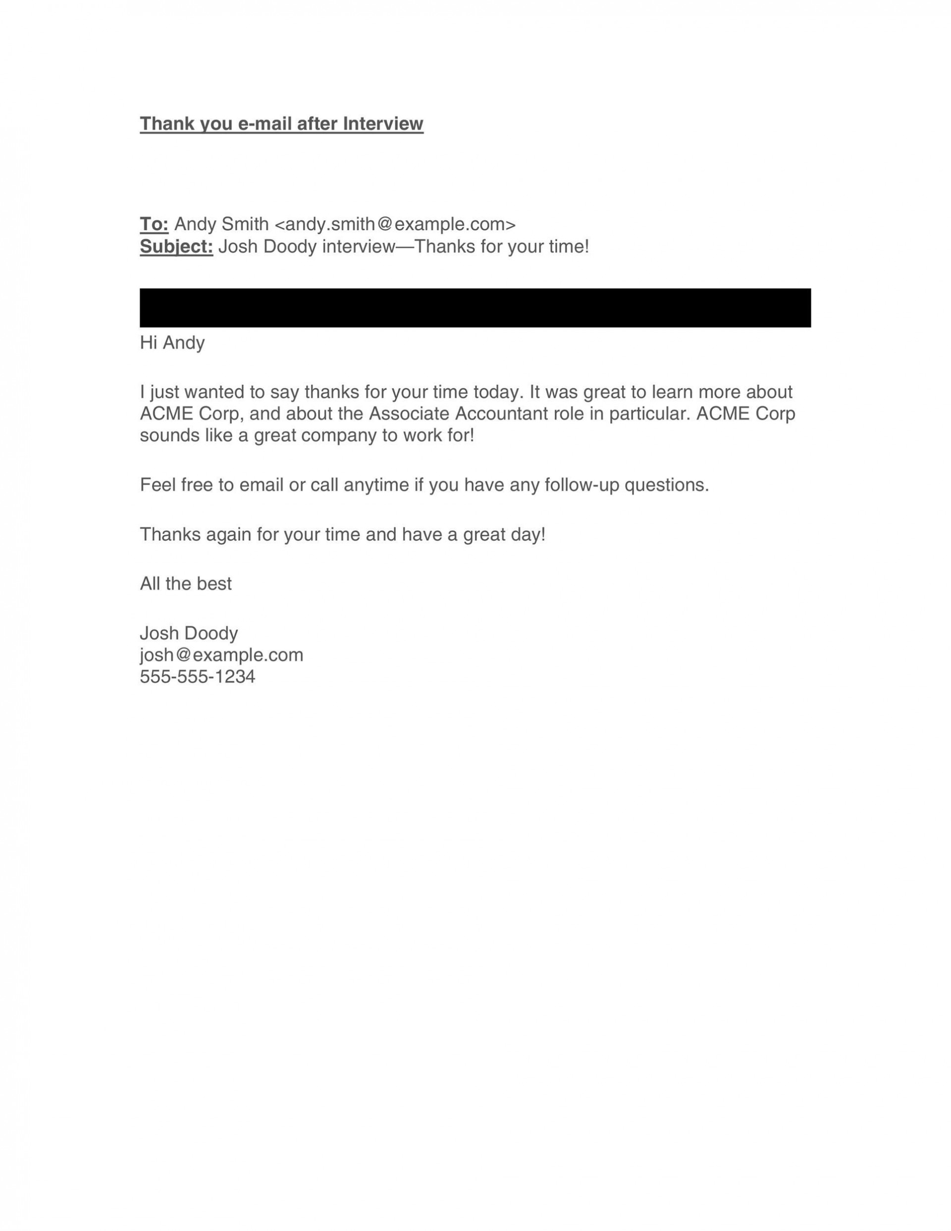 008 Singular Follow Up Email Template Interview High Resolution  Sample For Statu After Second Before Job1920