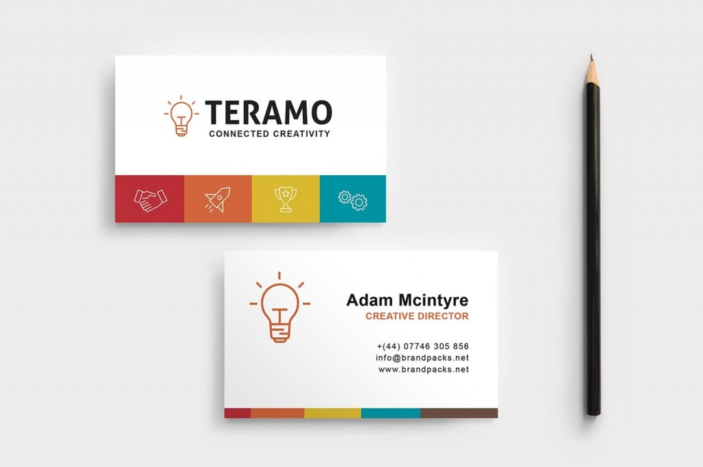 008 Singular Free Busines Card Design Template Picture  Templates Visiting Download Psd PhotoshopLarge