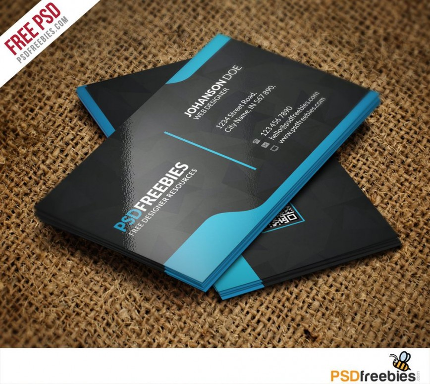 008 Singular Free Download Busines Card Template Design  Templates Modern Psd Avery 8371 Editable