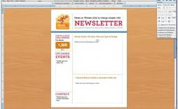 008 Singular Free Newsletter Template For Word 2010 Design