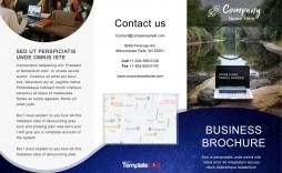 008 Singular Free Online Brochure Template For Word High Definition  Microsoft